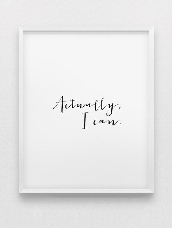 Motivation Home Decor YW1 Vos propres mots personnalisé imprimé A4 inspirante