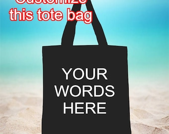 personalized tote bag 96a2d9325d