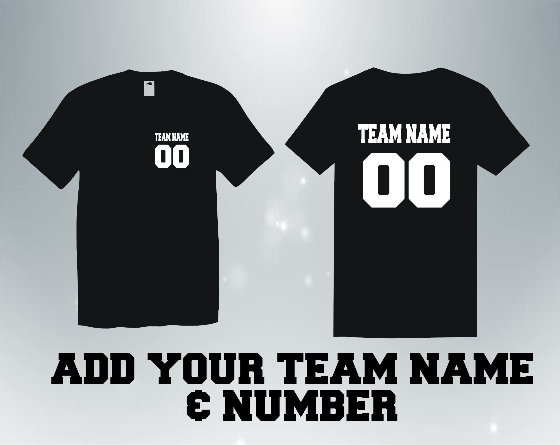 Custom Shirt Sports Team Uniform Jersey Shirt Custom Team Etsy