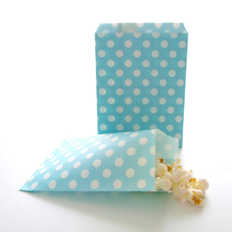 Ideas For Wedding Gift Bags: Wedding Favor Bags Grab Bag Gift Ideas Polka Dot Candy