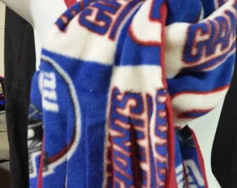 New York Giants fringed Man scarf