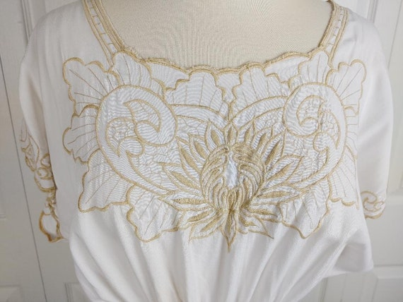 Vintage Hibis summer beach dress coverup - image 2