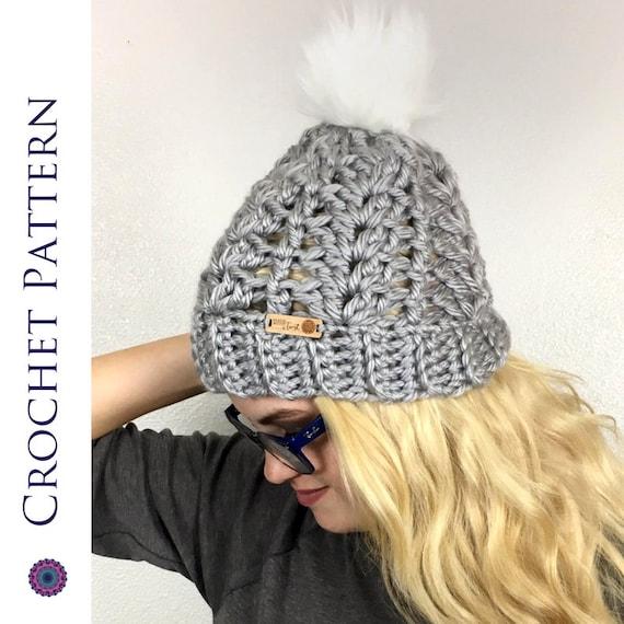Women s CROCHET HAT PATTERN Winter Hat Crochet Pattern  1809a3989206