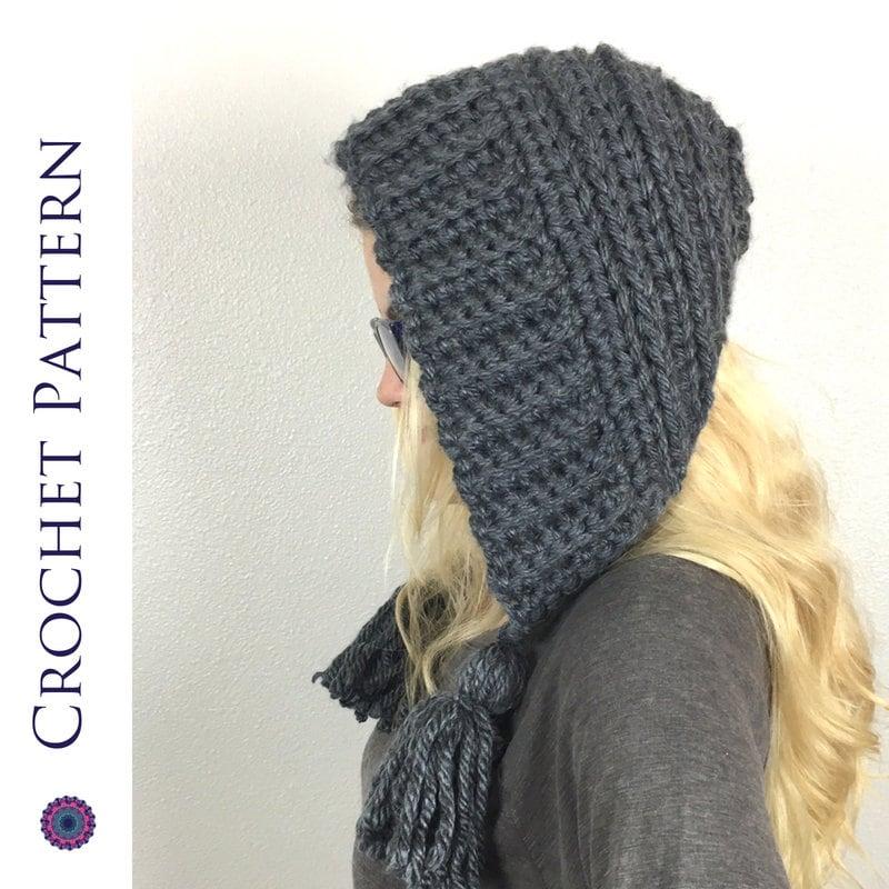 Earflap Hat Crochet Pattern Crochet Pattern For Earflap Hat Etsy