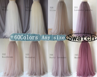 Sample of the softest tulle, color swatch  of softest tulle,color card of the soft tulle,more then 200 color for choose