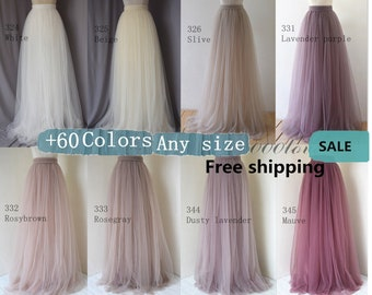 Maxi tulle skirt,wedding bridesmaid softest tulle skirt ,maxi dress, bridesmaids dress,bridesmaid skirt, women clothing,circle cutting