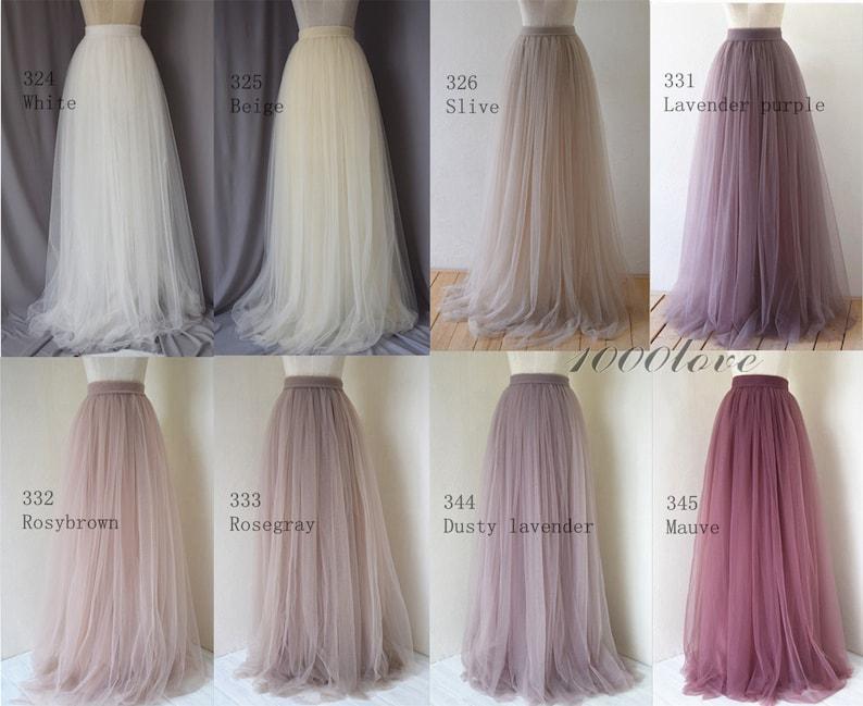 Knee length light friut green,Short tulle skirt adult women bridesmaid tulle skirt,custom size