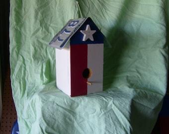 Texas Birdhouse Without Feeder