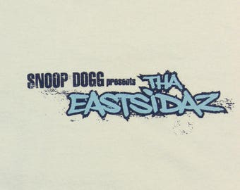 Vintage Snoop Dogg T-Shirt ~ 3XL // Presents Tha Eastsidaz, Rap, Tee, Promo, Duces and Trayz The Old Fashioned Way, Record, Hip Hop
