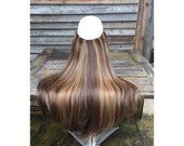 HALO hair extensions, lay...