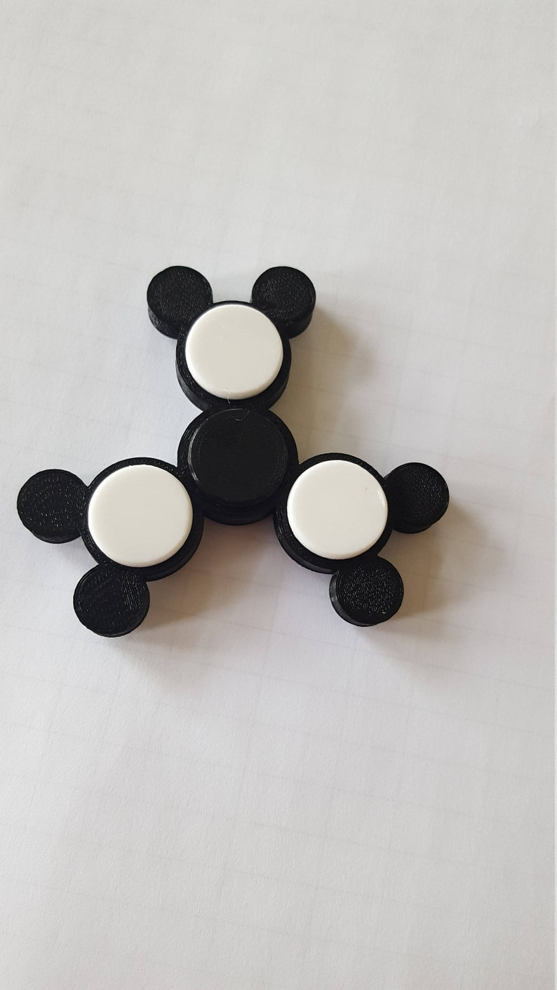 Mouse Fidget Spinners  3D Printed in Saratoga Springs NY image 0