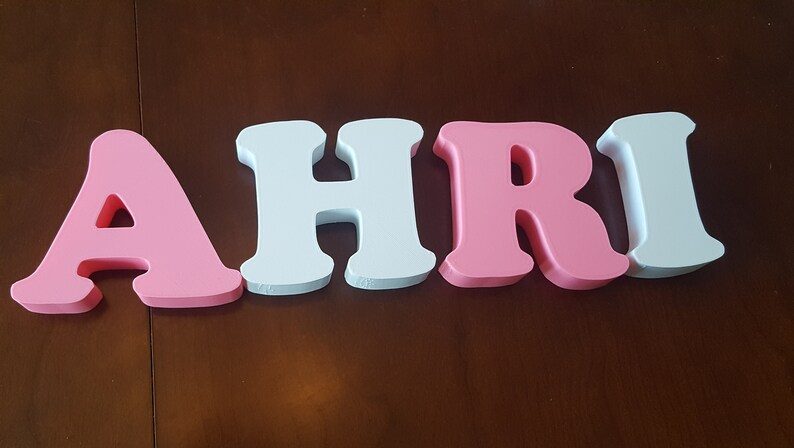 Letter Decorations For Kid's Room Nursery Laundry Room image 0