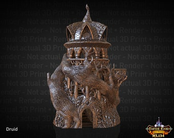 Druid Dice Tower #7 // Introductory Price Through October