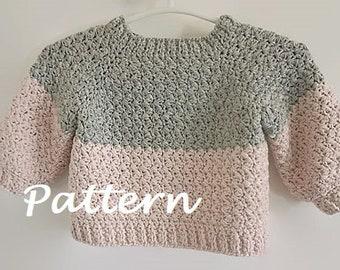 f77e11e937a5 Crochet baby sweater