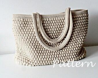 2ecc43228cd3 CROCHET PATTERN Crochet Bag Pattern Tote Pattern crochet purse woman bag