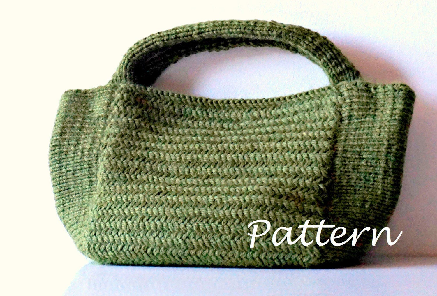 KNITTING PATTERN Knitting Bag Pattern Bag Making Tutorial Knitted ...