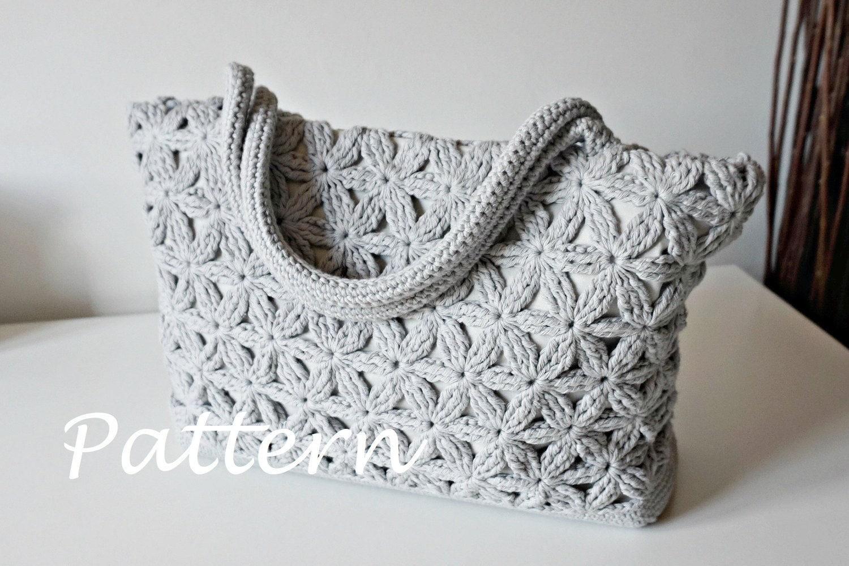 CROCHET PATTERN Crochet Bag Pattern Tote Pattern crochet purse