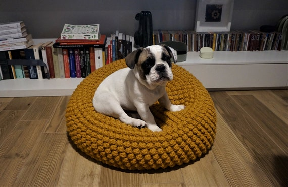 CROCHET PATTERN Video Tutorial Diy Tutorial Crochet Pouf Pet