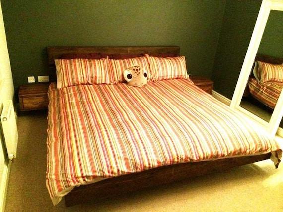 hamer bed etsy. Black Bedroom Furniture Sets. Home Design Ideas