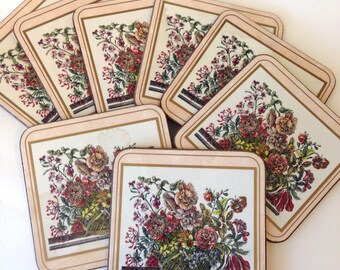 Pimpernel Coasters floral arrangement