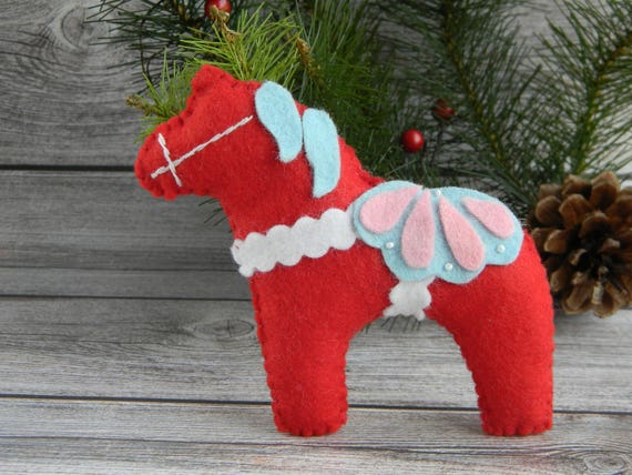 image 0 - Horse Christmas Decorations
