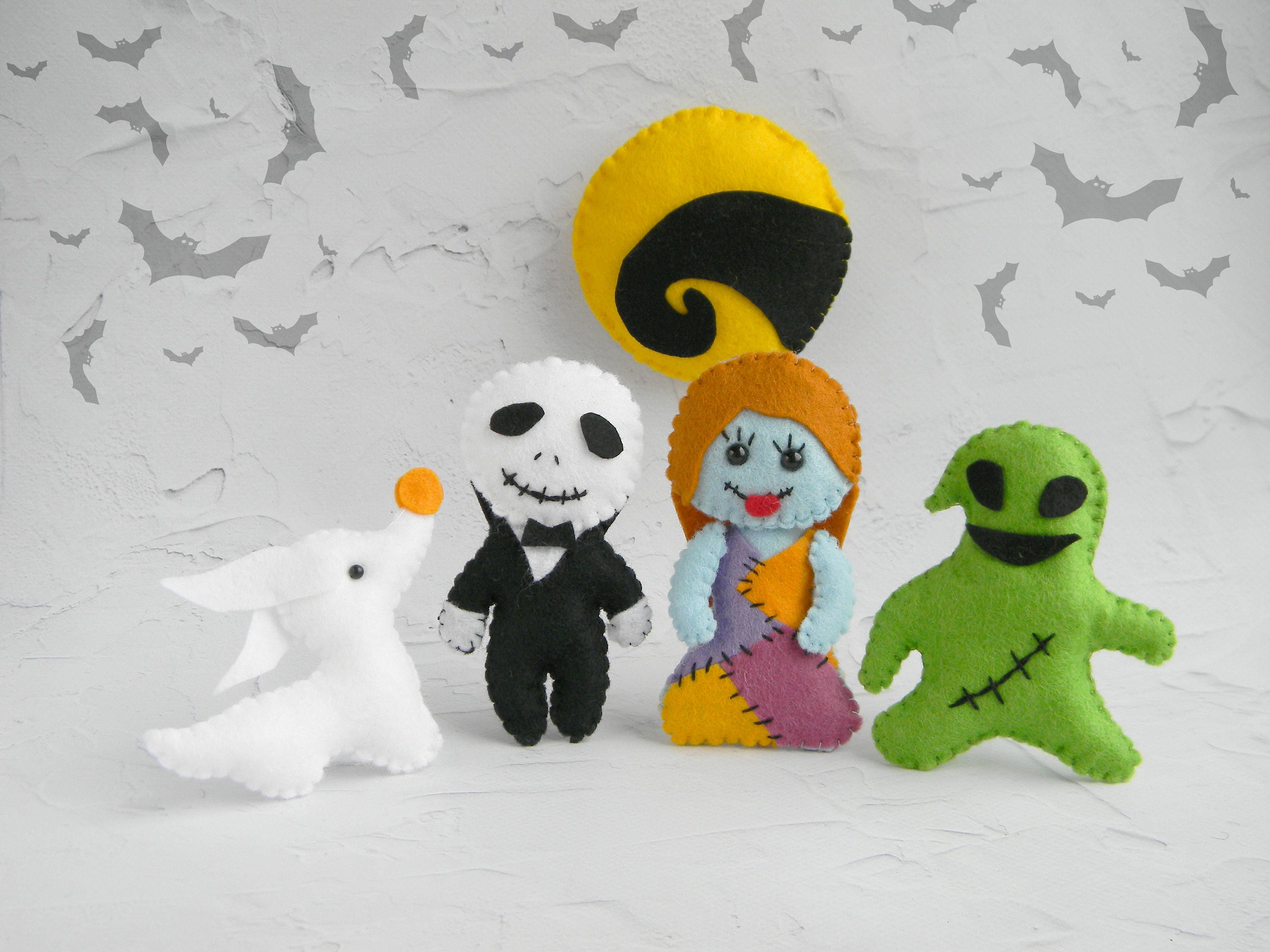 Nightmare Before Christmas Decor Baby Halloween Ornaments Paty | Etsy