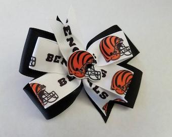 Cincinnati Bengals Hair bow