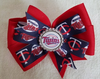 Minnesota Twins hair bow