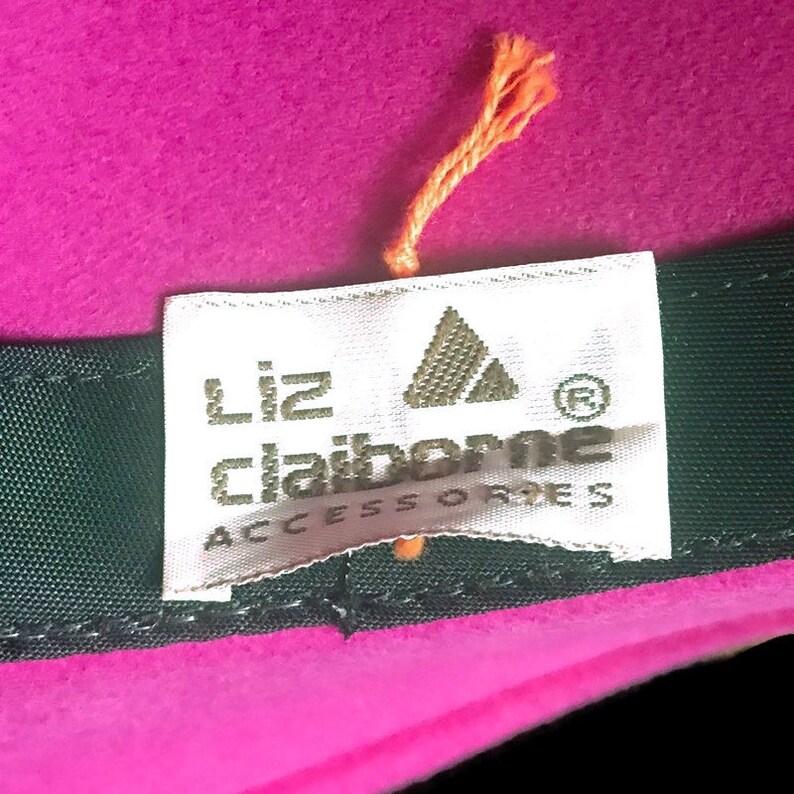Vintage Liz Claiborne Fuchsia Fedora