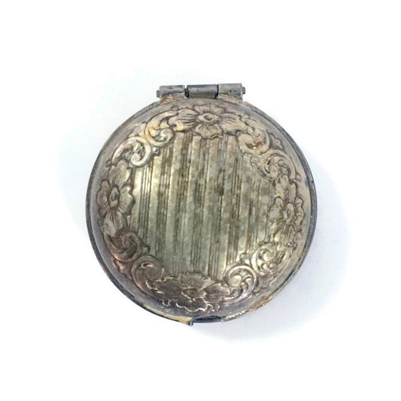 Antique Silver Victorian Mourning Locket