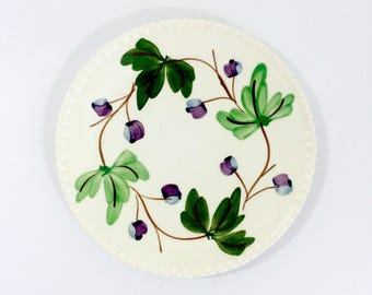 Small Purple Berry Plates