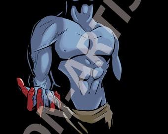 I have judged them, and found them wanting. (Marvel X-men Apocalypse digital art print)