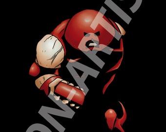 I'm the Juggernaut B****! (Marvel X-men Juggernaut digital art print)