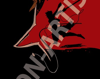 I'll win, no matter what! (Mikasa, Attack on Titan - digital art print)