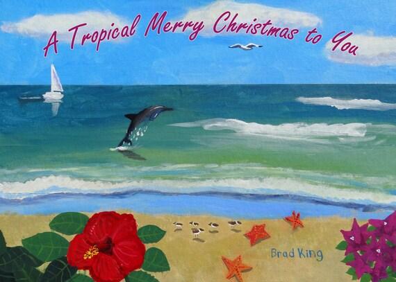image 0 - Tropical Christmas Cards