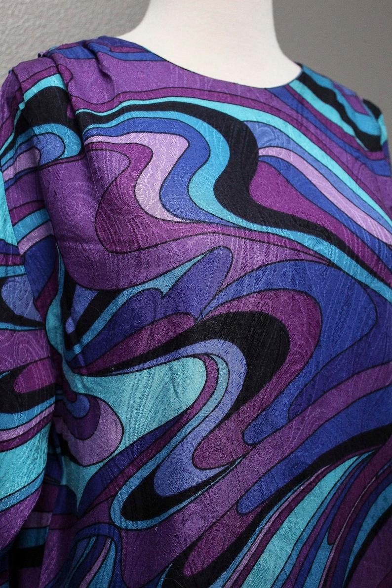 FKVintage 1970/'s Swirl Blouse byRafferty