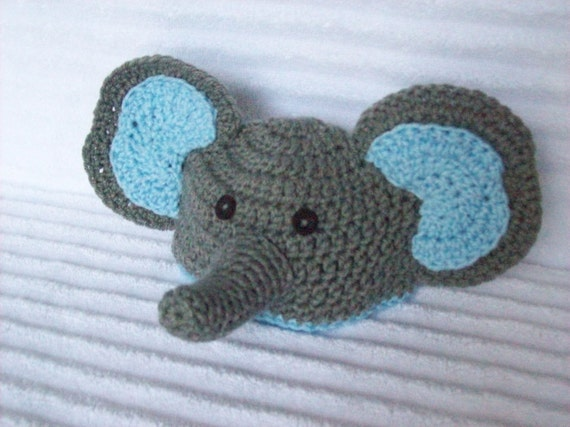 Baby Elephant hat newborn elephant beanie crochet elephant  19fe635877f