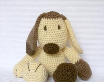 Crochet Animal, Crochet Dog Stuffed Animal, Plush Dog, Crochet Puppy, Stuffed Dog, Puppy Plush, Dog Plush, Stuffed Puppy, Toy, Puppy Dog Pal