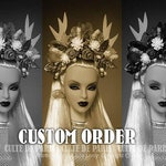 RESERVED For H 1/4 Scale Custom Wig For Ficon Dolls