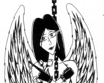 Mature: Mary - Femdom Art of Fallen Angel with submissive man