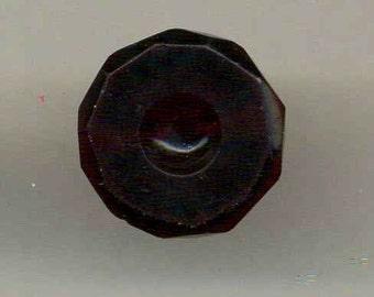 Antique Button Cranberry Glass