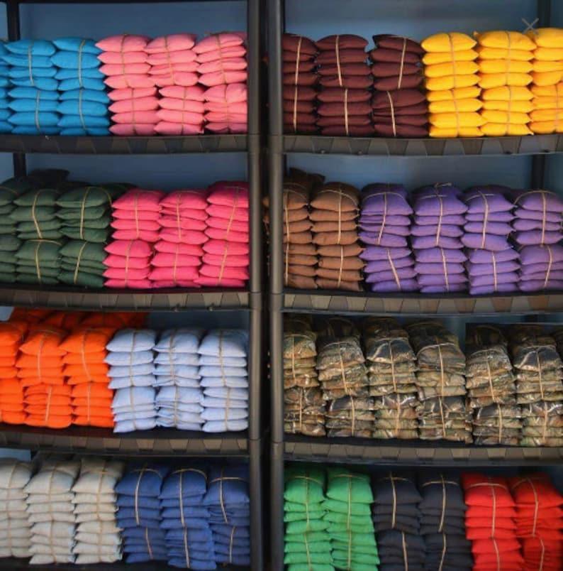 8 Cornhole Bags Any 2 colors image 0