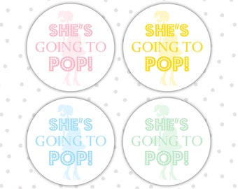 Ready To Pop Labels Etsy