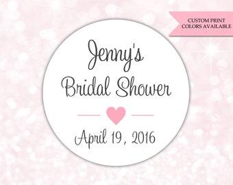 bridal shower stickers bridal shower labels bridal shower favor stickers rw069