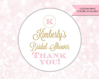 bridal shower stickers bridal shower labels bridal shower favor sticker rw042