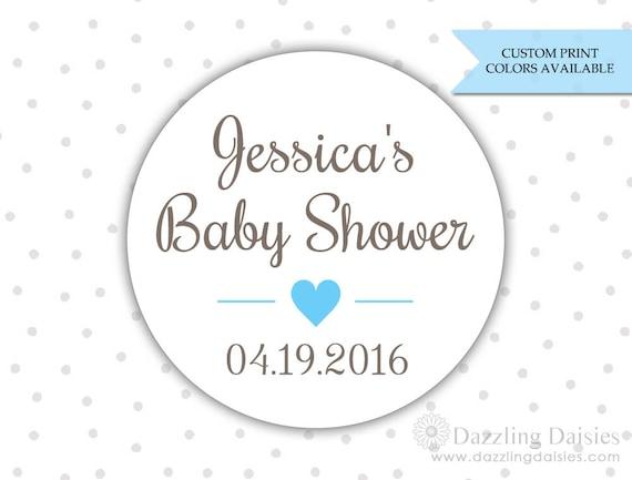 Baby Dusche Aufkleber Baby Dusche Etiketten Personalisierte Baby Dusche Aufkleber Baby Dusche Zugunsten Etiketten Rw070