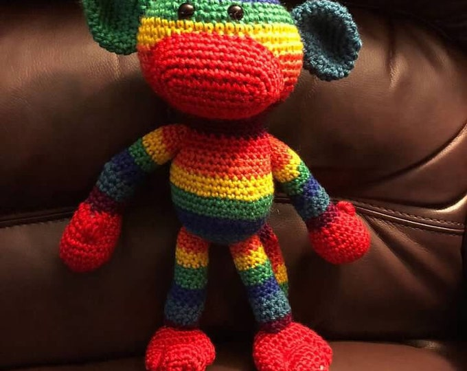Harmony the Pride Sock Monkey