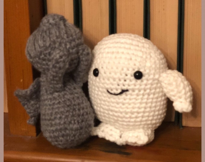 Doctor Who duo - Weeping Angel/Adipose