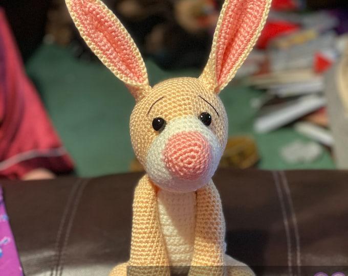 Made to order, Rabbit, Winnie the Pooh inspired amigurumi plush character