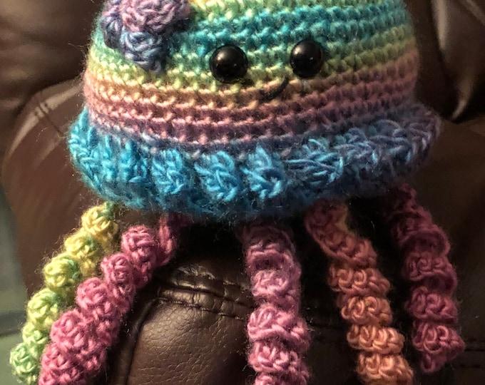Cute, Cuddly, & Colorful Jellyfish